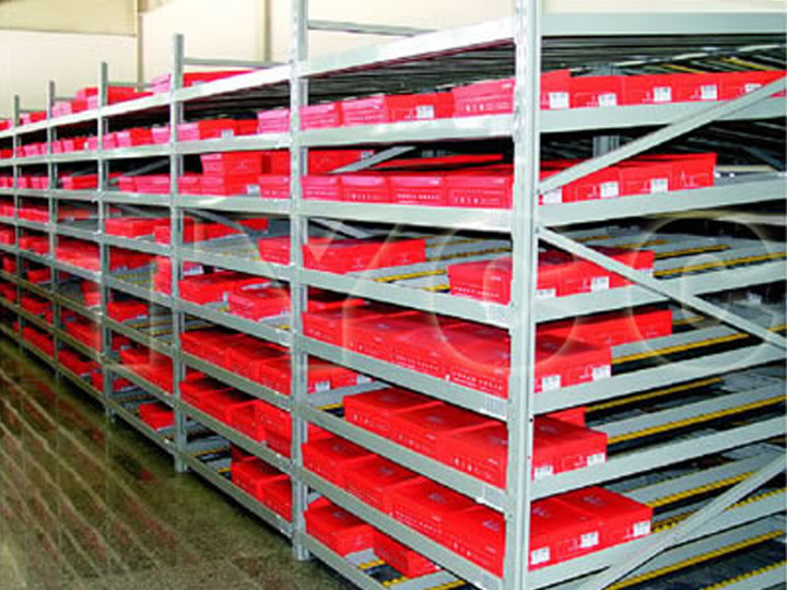 Flow-through Racking System