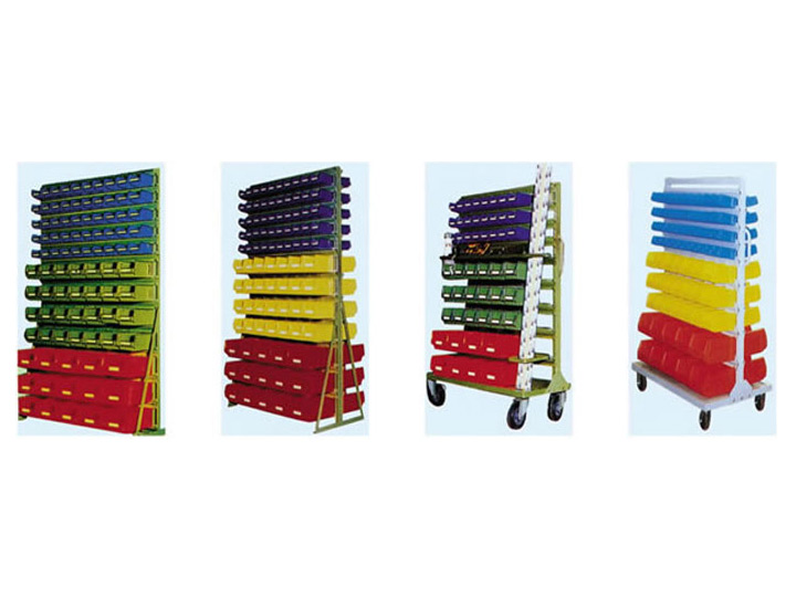 Small Pieces Storage Shelving System